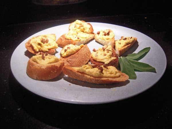 Butternut Squash Recipe: A dip with Butternut Squash and Goat Cheese