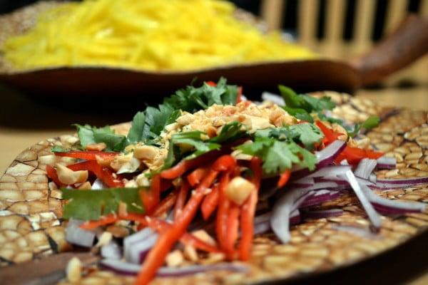 Sour Thai Mango Salad