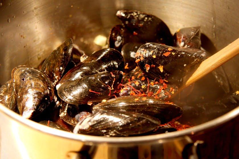 Jane's Mussels Meuniere
