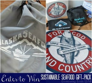 A great gift idea for food lovers, Sustainable Seafood Giftpack