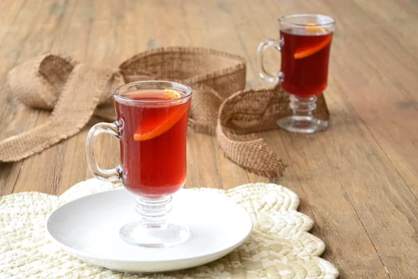 This hot cranberry cider recipe has sweet orange & subtle licorice flavors. Get the easy holiday drink recipe on CookTheStory.com