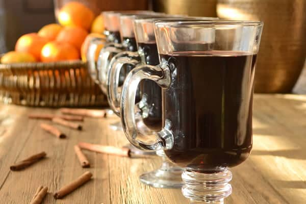 Easy Mulled Wine Recipe - perfect to have on hand during the holidays