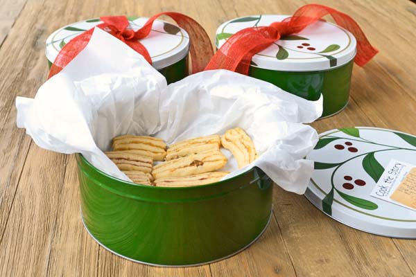 Layered Icebox Cookies with Lemon, Rosemary and Apricot, an adaptation ...