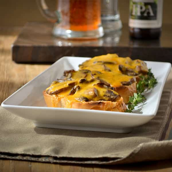 Best Recipes of 2012: Welsh Rarebit Canapés
