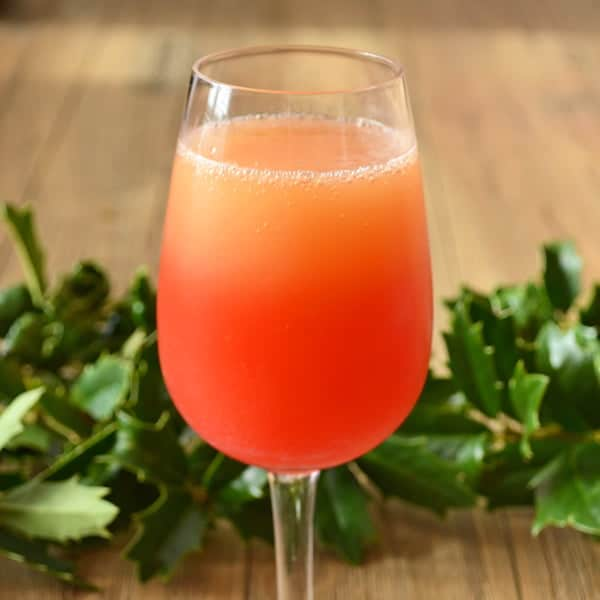 Best Recipes of 2012: Paint Your Mimosa Red