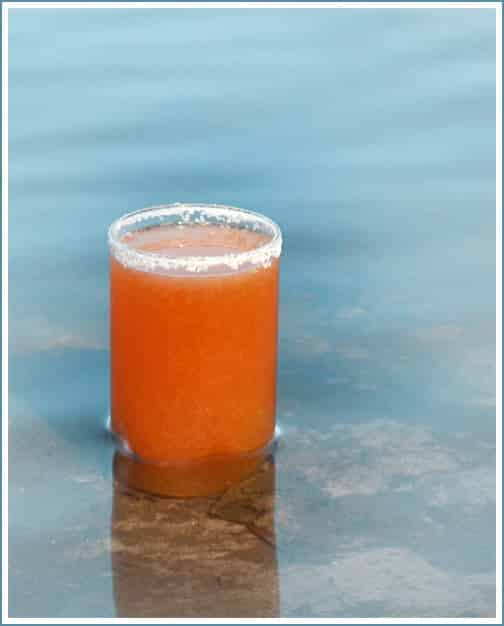 The Salty Tiger - A refreshing beer cocktail of grapefruit juice and IPA - recipe from COOKtheSTORY.com