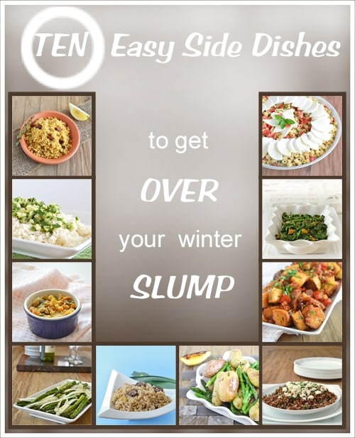10 Easy Side Dishes To Get Your Over Your Winter Slump, by www.cookthestory.com