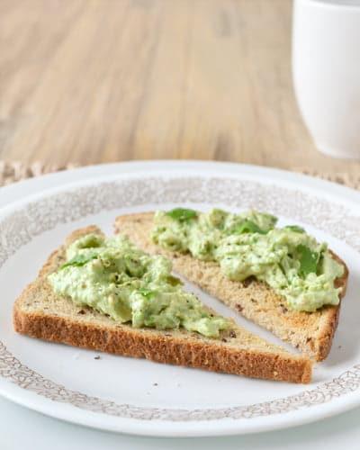 Healthy Breakfast Ideas with a recipe for Breakfast Guacamole