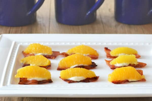 Bacon Canapés: One of my all time favorite bacon recipes for brunch