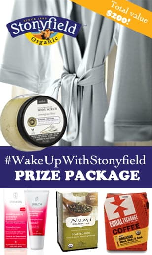 Stonyfield Prize Package