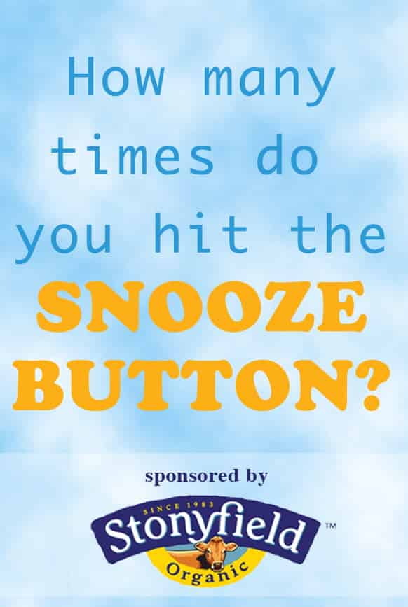 Q#1: How many times do you hit snooze in the morning? Answer the question in the comment section of this pin on the Cook! PinChatLive Pinterest Board for you chance to win. 1 answer per question per person please. http://pinterest.com/cookthestory/cook-pinchatlive/