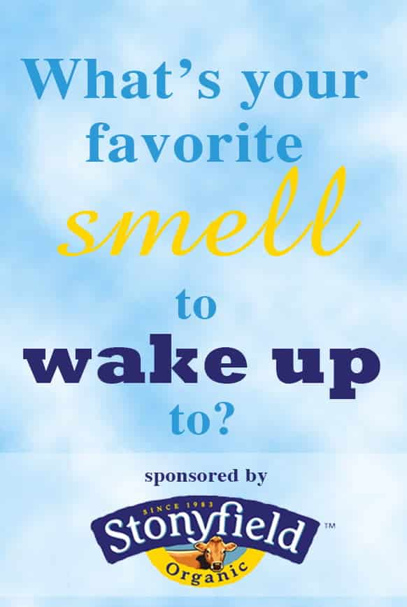 Q#2: What is your favorite smell to wake up to? Answer the question in the comment section of this pin on the Cook! PinChatLive Pinterest Board for you chance to win. 1 answer per question per person please. http://pinterest.com/cookthestory/cook-pinchatlive