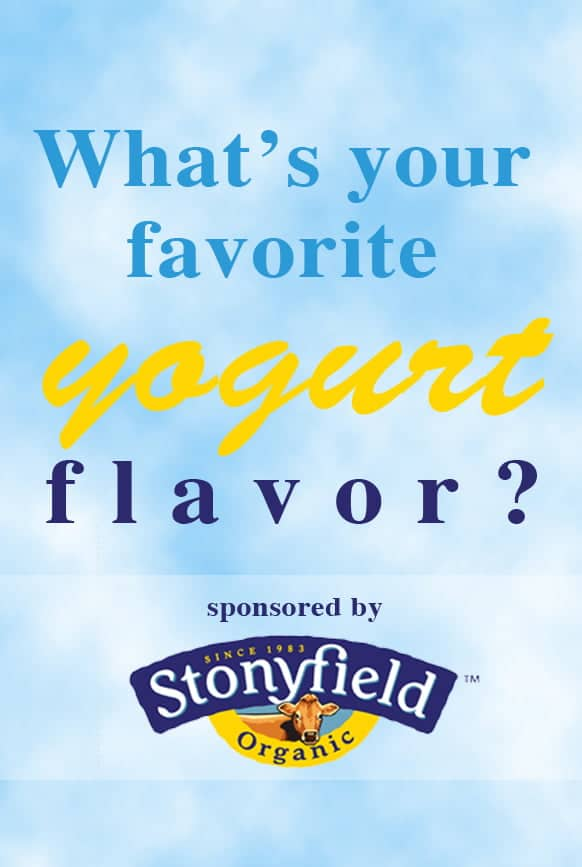 Q#3: What is your fave yogurt flavor? Answer the question in the comment section of this pin on the Cook! PinChatLive Pinterest Board for you chance to win. 1 answer per question per person please. http://pinterest.com/cookthestory/cook-pinchatlive