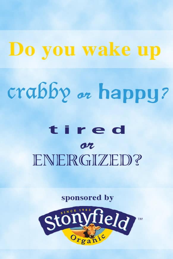 Q#4 Do you wake up crabby or happy? Tired or energized? Answer the question in the comment section of this pin on the Cook! PinChatLive Pinterest Board for you chance to win. 1 answer per question per person please. http://pinterest.com/cookthestory/cook-pinchatlive