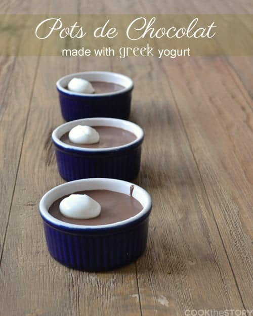 Pots de chocolat with greek yogurt an easy dessert recipe pots de chocolat an easy dessert recipe made with greek yogurt go to www forumfinder Image collections
