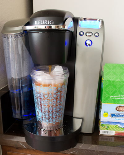 A Keurig REview: The K75 Platinum Brewing System and Brew Over Ice K-Cups