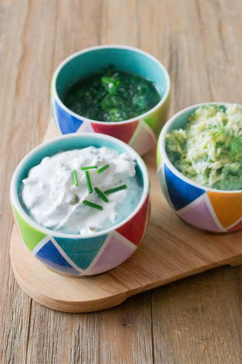 Three easy summer herb sauce recipes that will take a simple grilled meal and make it spectacular.