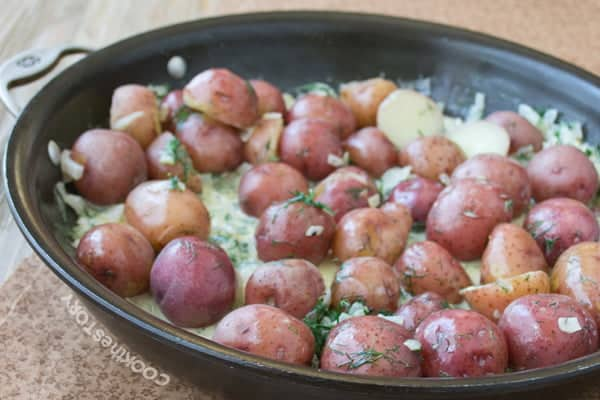 Potatoes with Lots of Dill