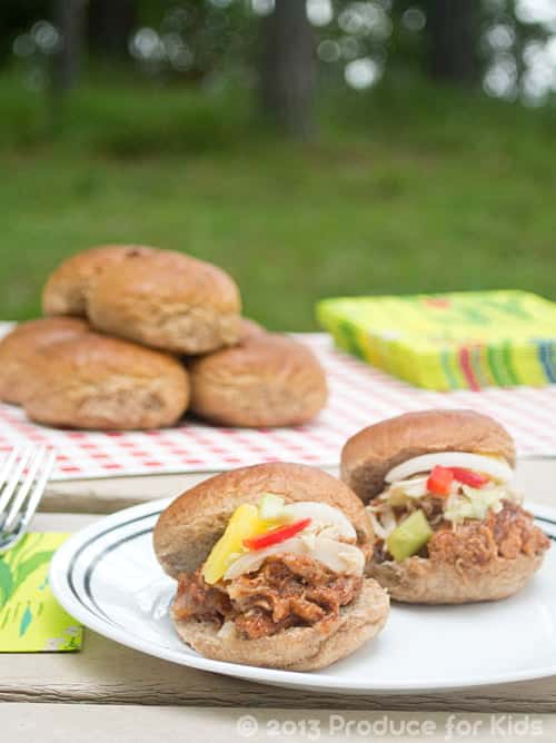 Easy and Healthy Make-Ahead Pulled Pork Tenderloin Sliders. Perfect for tailgating! Get the recipe at cookthestory.com