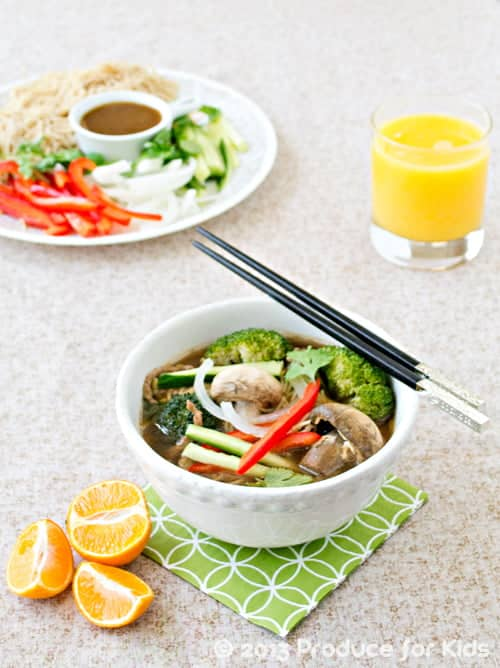A fun and easy asian noodle soup recipe do i ever have an easy dinner recipe for you today its a quick and easy asian noodle soup this recipe is one of my familys favorites because we each forumfinder Images