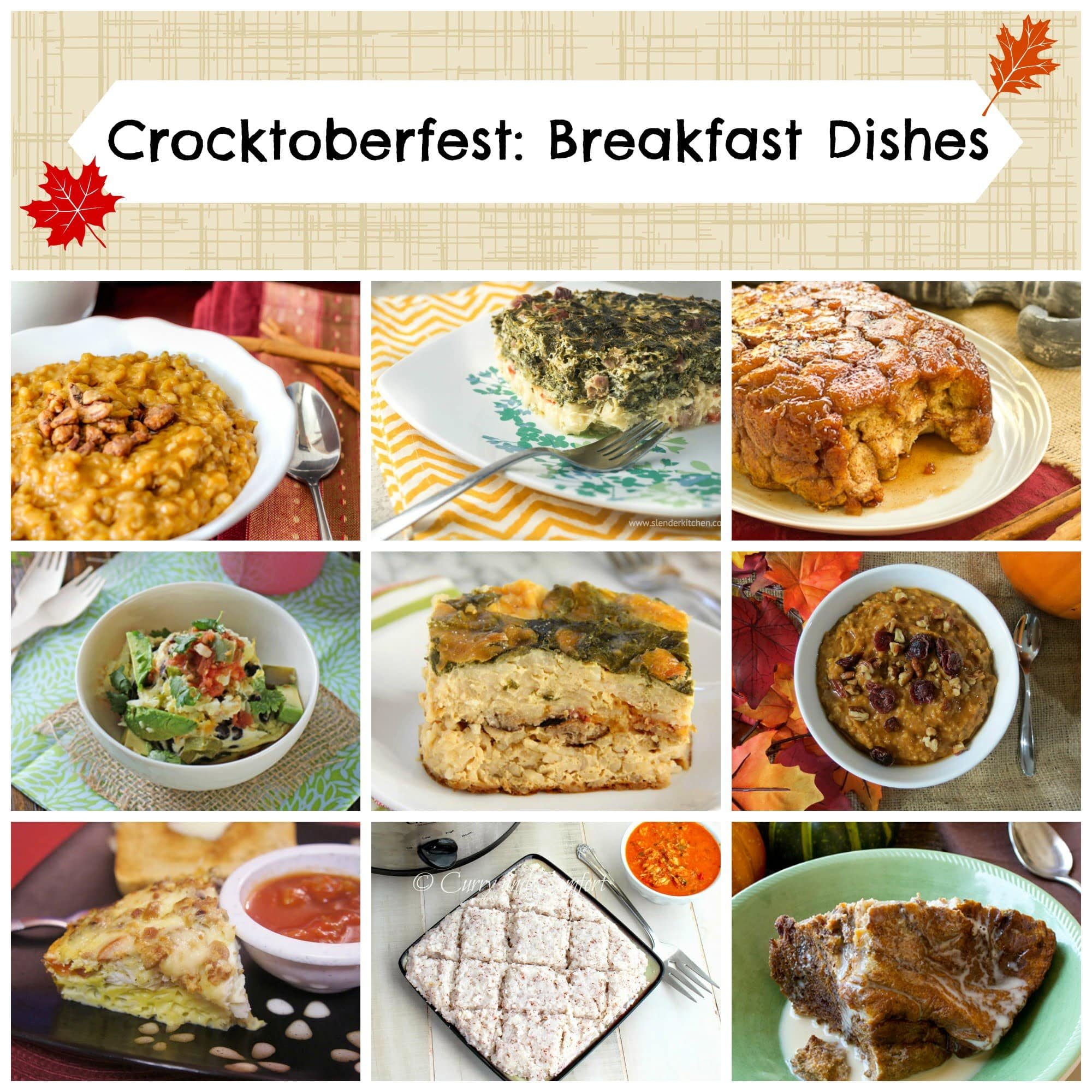 Easy slow cooker breakfast recipes