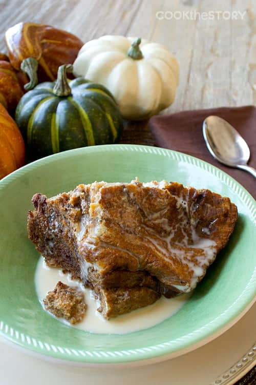 Slow Cooker Recipe: Breakfast Pumpkin Bread Pudding