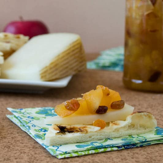 Pair RubyFrost Apples with Apple Ginger Chutney