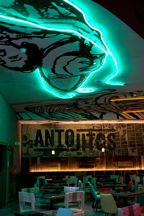 Antojitos Authentic Mexican Food Downstairs