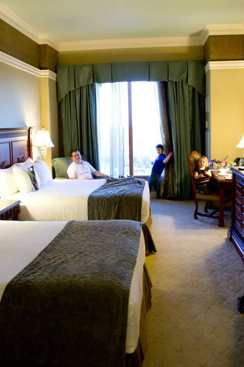 Our Double Queen Room at Rosen Shingle Creek Orlando Hotel