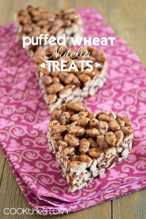 Puffed Wheat Nutella Treats