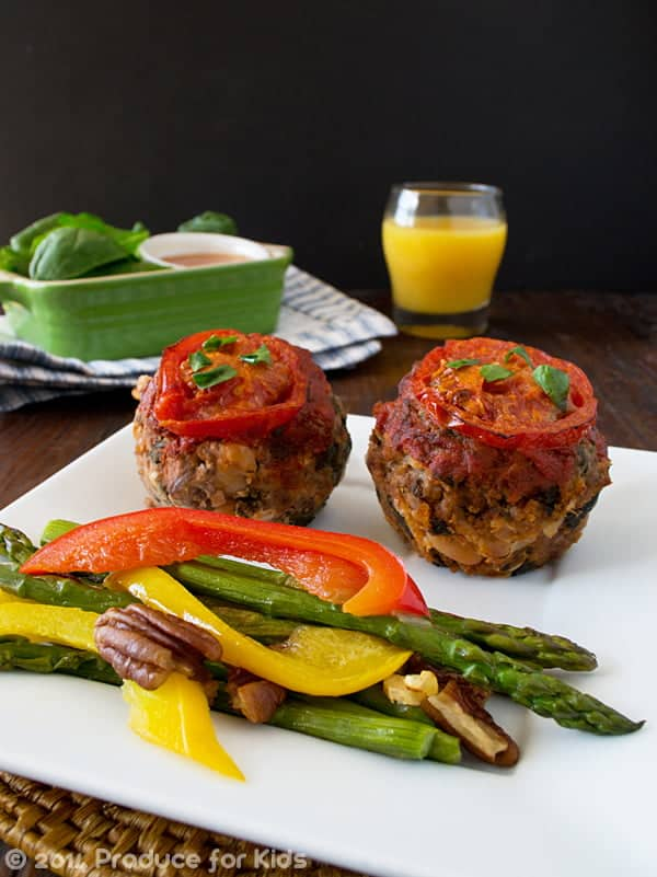 gluten-free meatloaf muffins with zesty Italian flavors