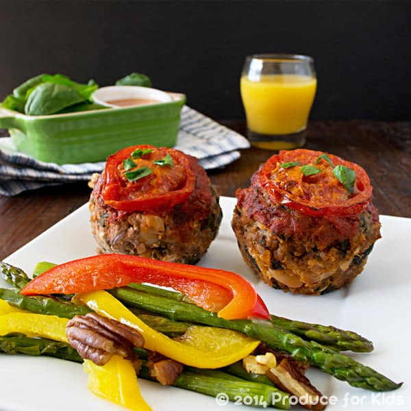 Meatloaf Muffins Square copy