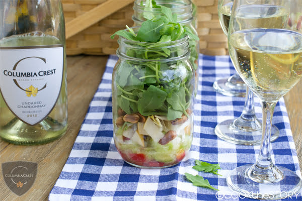 Asian Salad In A Jar: A Fun Make-Ahead Appetizer