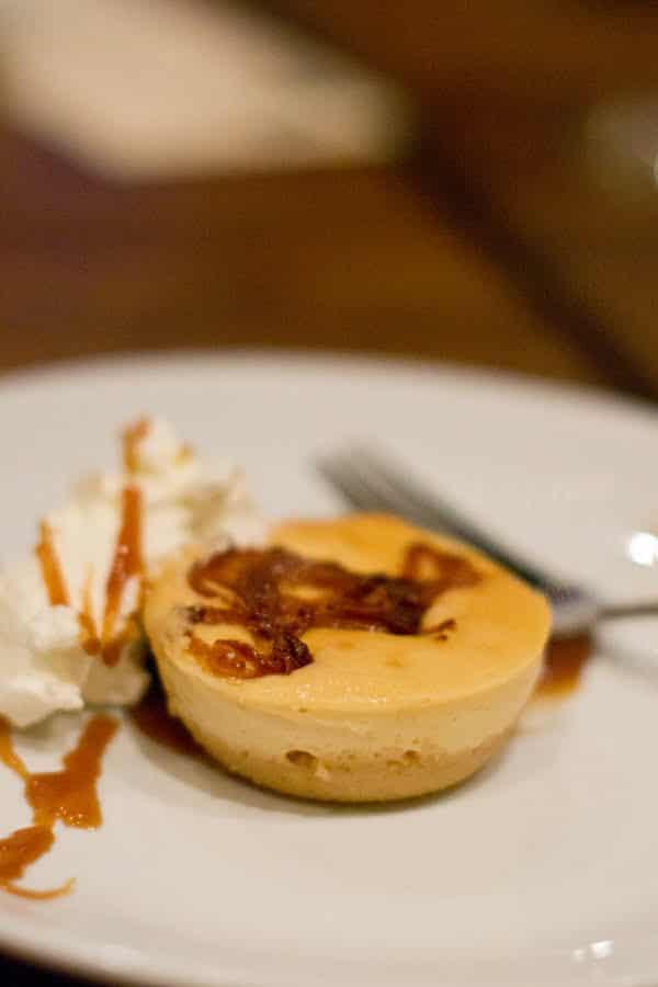 Cheesecake with Caramlized Vidalia Onions