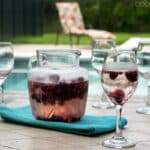 Homemade Berry Wine Cooler