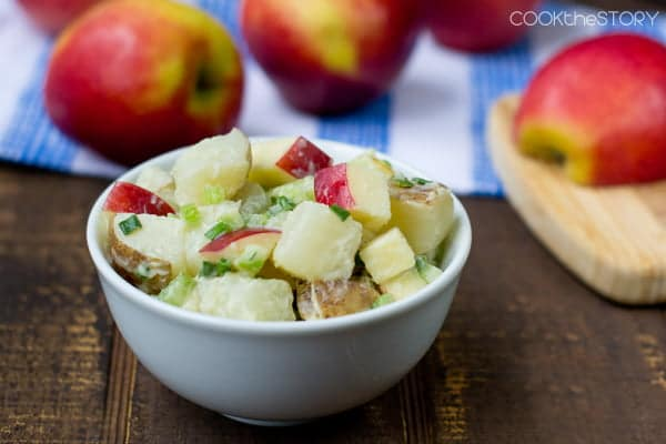 Apple Potato Salad Recipe