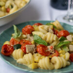 Summer Vegetable and Sausage Pasta Dinner