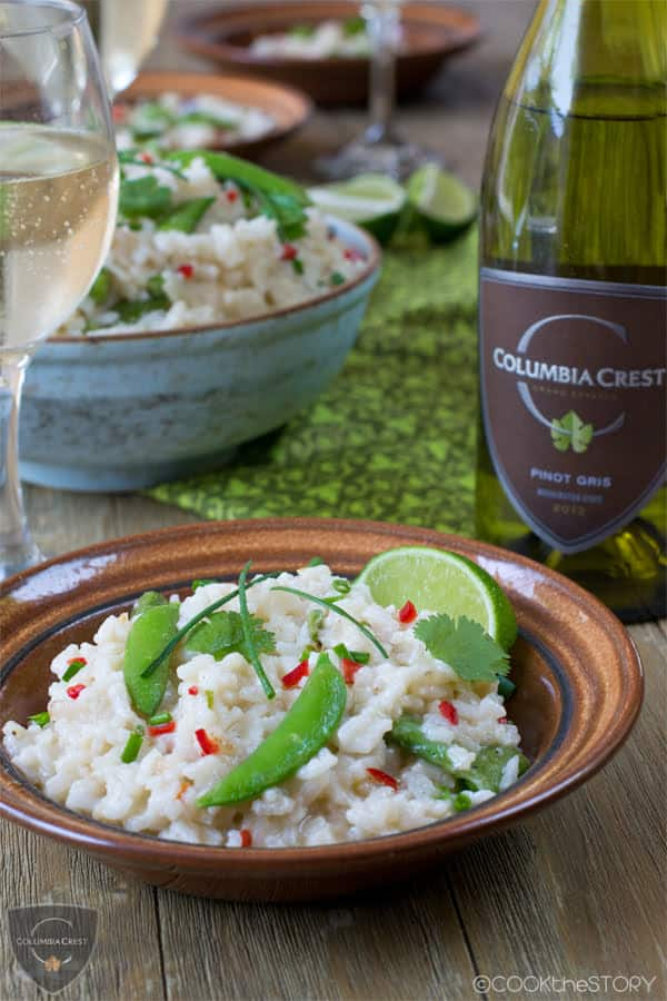 Asian Oven Baked Risotto
