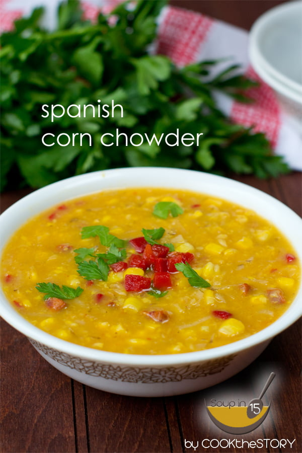 Spanish Corn Chowder