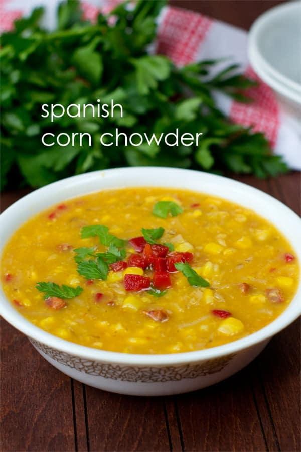 Spanish Corn Chowder
