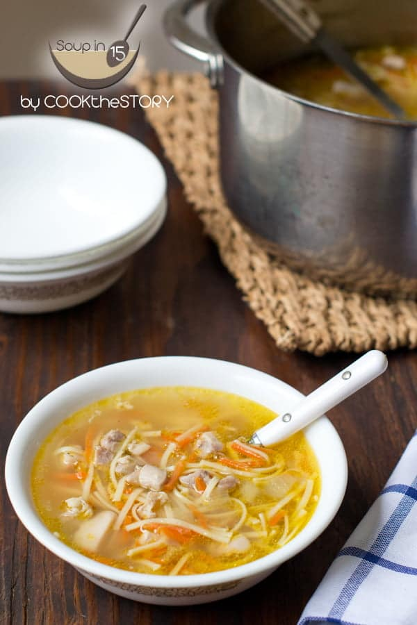 Quickest Homemade Chicken Noodle Soup