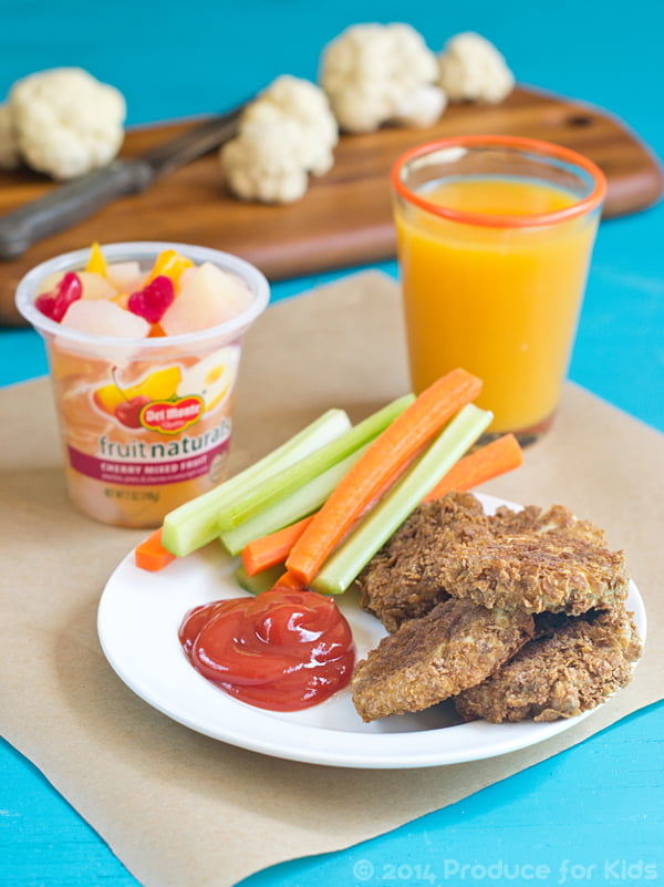 Produce For Kids Healthy Chicken Nuggets