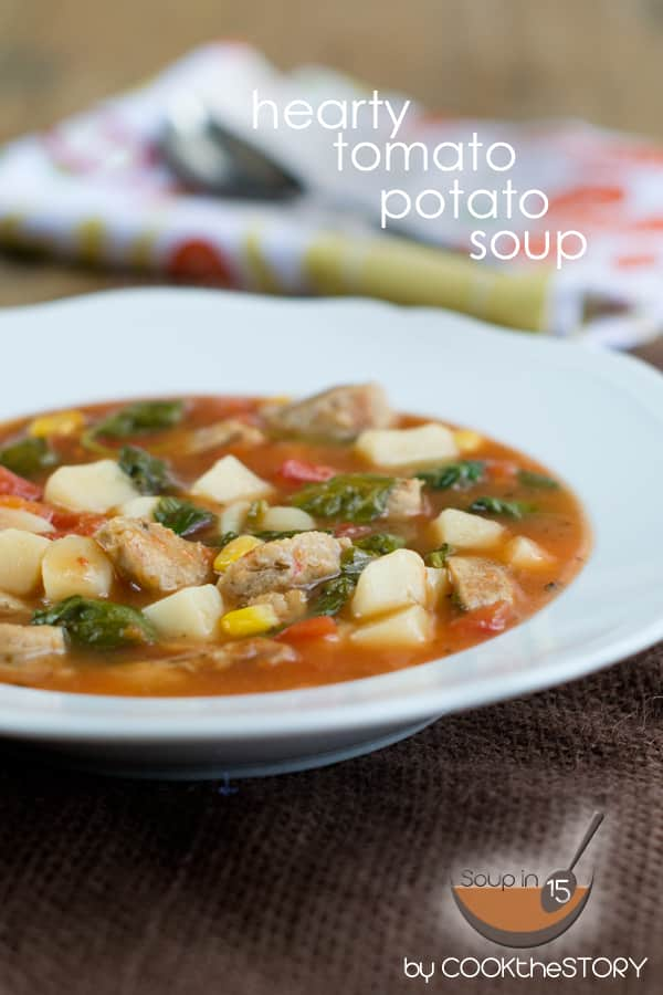 Hearty Tomato Potato Soup