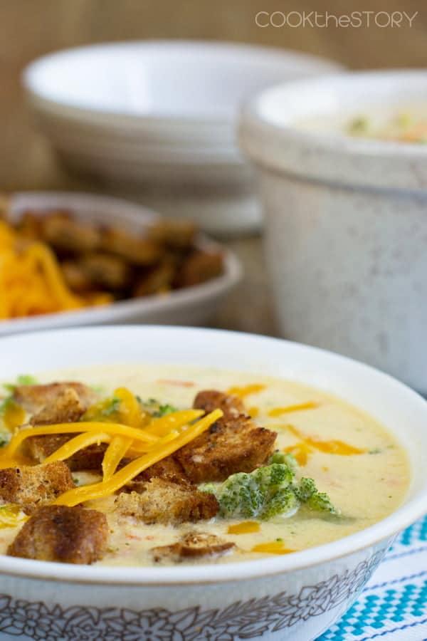 Easy Panera Broccoli Cheddar Soup Recipe