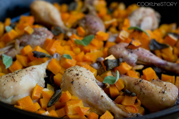 Chicken with Butternut Squash Recipe