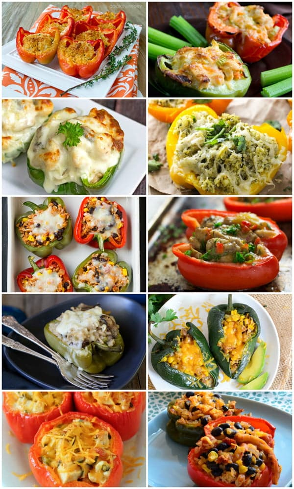 13 Chicken Stuffed Pepper Recipes