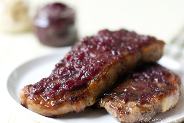 Cranberry Horseradish Pan-Fried Steak