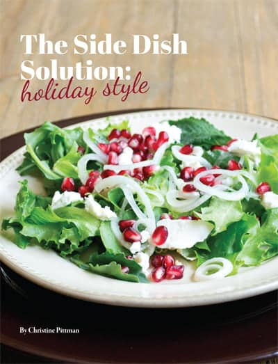 The Side Dish Solution: Holiday Style Cookbook