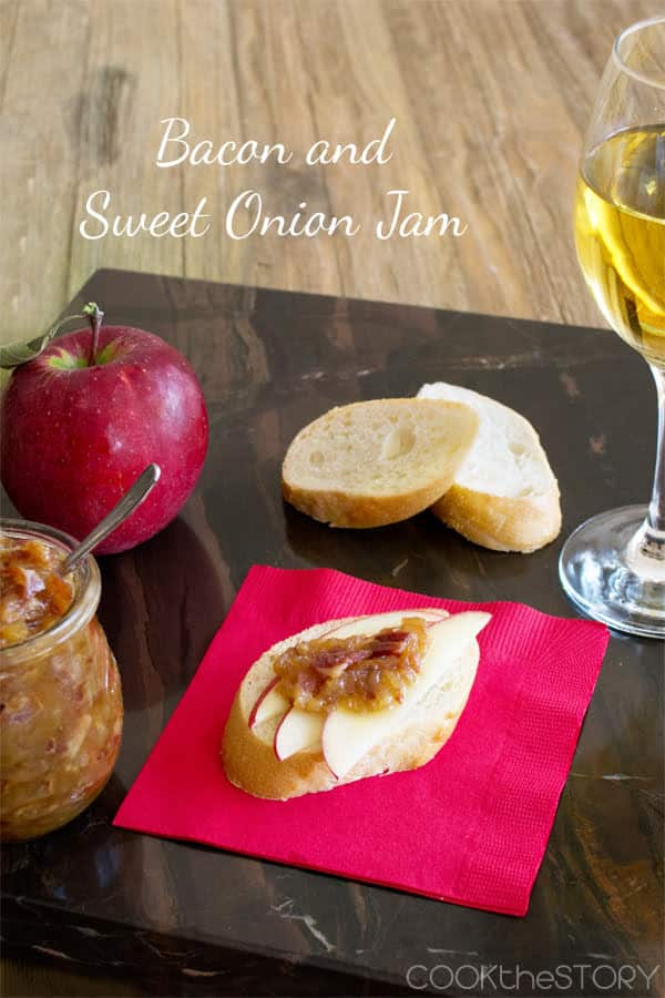sweet onion and bacon jam recipe