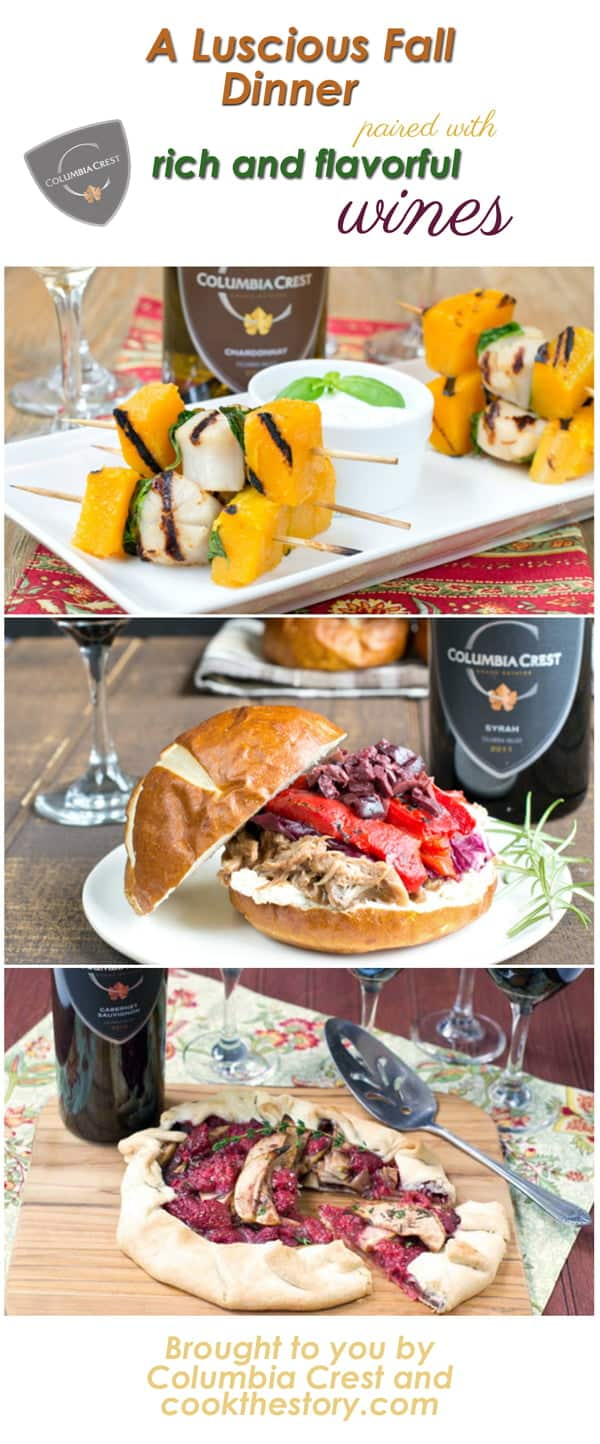 A fall dinner recipes with wine pairings a fall dinner party menu with wine pairings my latest recipes forumfinder Images